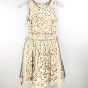 Dainty Hooligan • Broidery anglaise mini dress